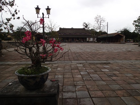 Courtyard in the Imperial City.
