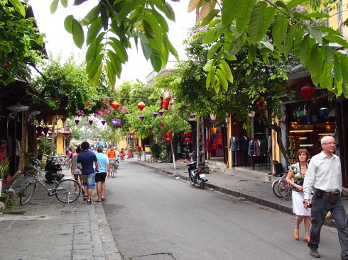 Cross the Japanese Bridge in Hoi An and find yourself here.