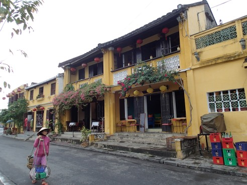 Old Town, Hoi An. It's a beautiful walking district.