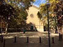 Plaça de la Virreina in Gracia, where all are welcome. Except me.